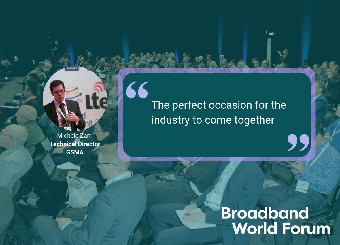 Broadband World Forum Telecoms Conference Industry Event